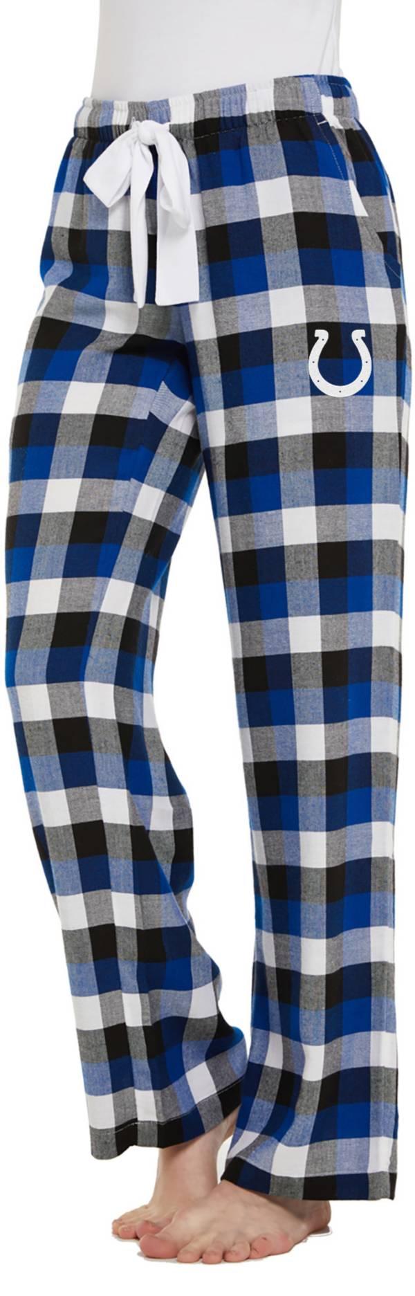 Concepts Sport Women's Indianapolis Colts Breakout Royal Flannel Pants product image