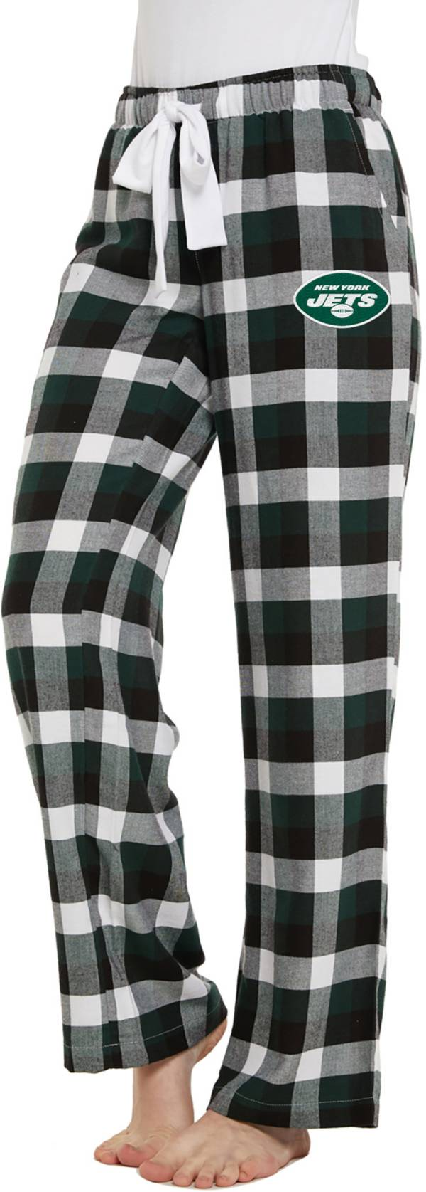 Concepts Sport Women's New York Jets Breakout Green Flannel Pants product image