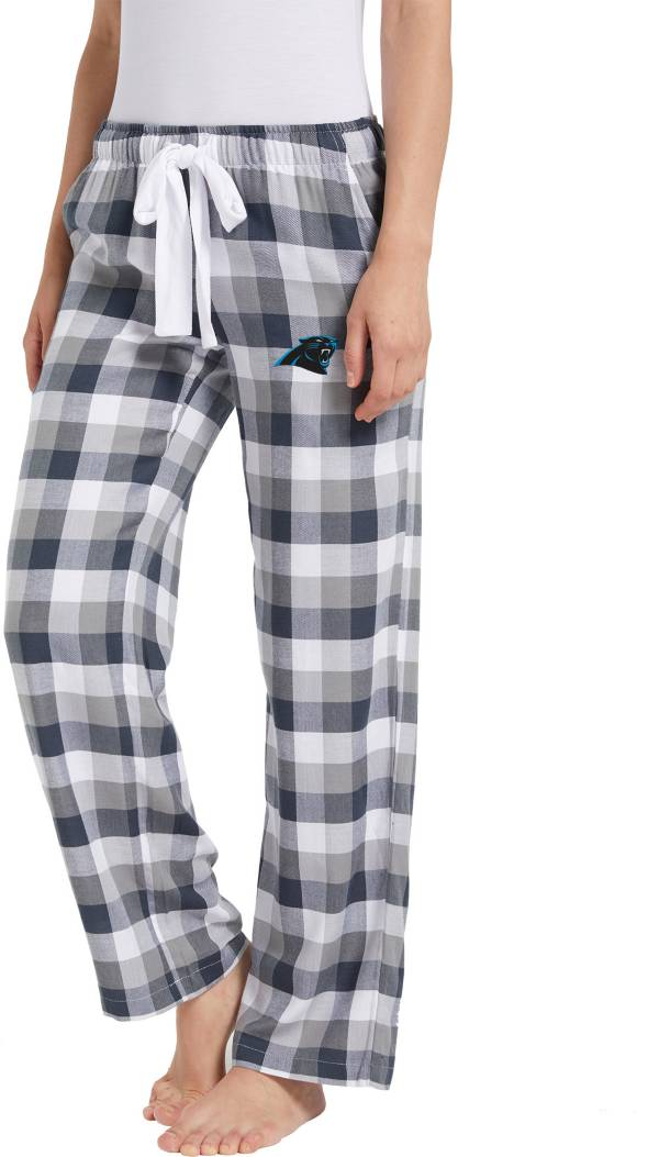 Concepts Sport Women's Carolina Panthers Breakout Charcoal Flannel Pants product image