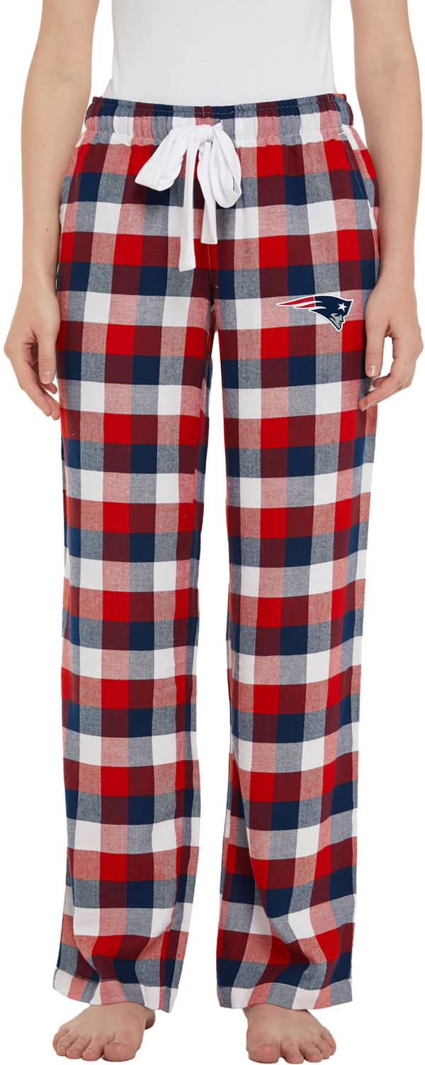 Concepts Sport Women's New England Patriots Breakout Navy Flannel Pants product image