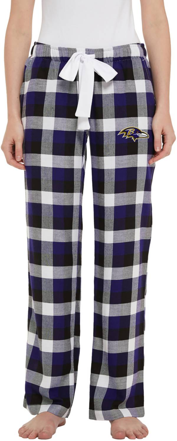 Concepts Sport Women's Baltimore Ravens Breakout Purple Flannel Pants product image