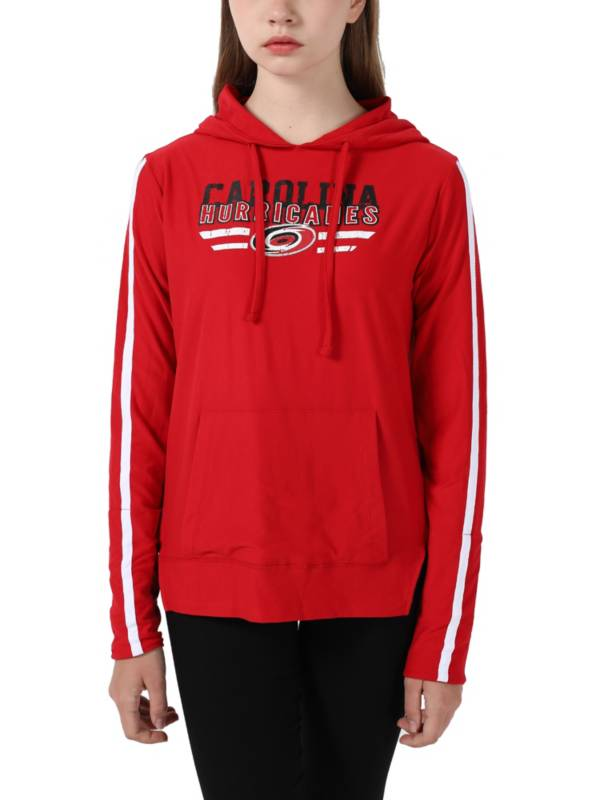 Concepts Sports Women's Carolina Hurricanes Red Zest Pullover Hoodie product image