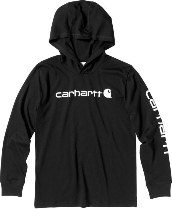 Carhartt Boys' Long Sleeve Hooded T-Shirt product image