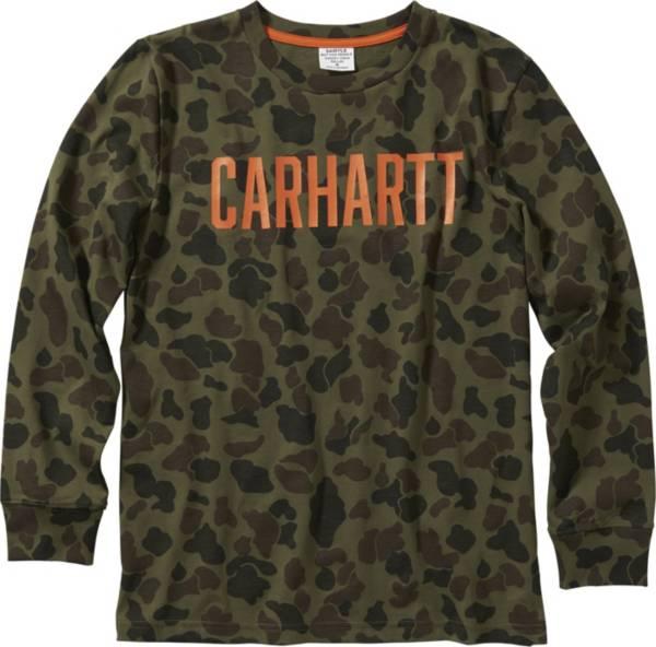 Carhartt Boys' Camo Long Sleeve T-Shirt product image