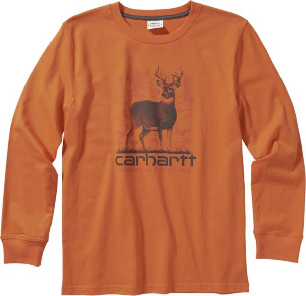 Carhartt Boys' Cotton Graphic Long Sleeve T-Shirt product image