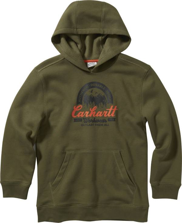 Carhartt Boys' Graphic Hooded Sweatshirt product image