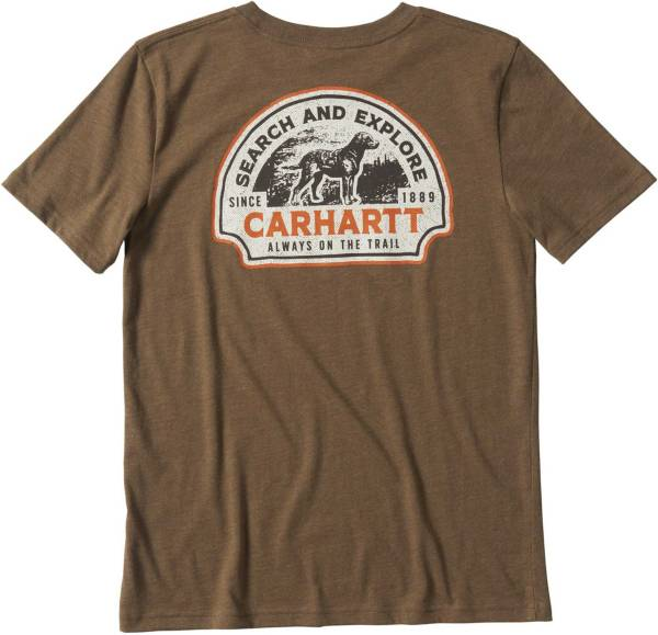 Carhartt Boys' Heather Graphic T-Shirt product image