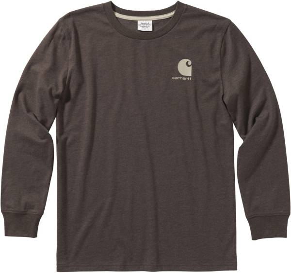 Carhartt Boys' Heather Graphic Long Sleeve Shirt product image