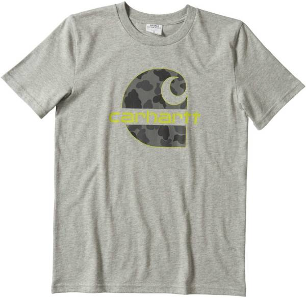 Carhartt Boys' Short Sleeve Camo C Graphic T-Shirt product image