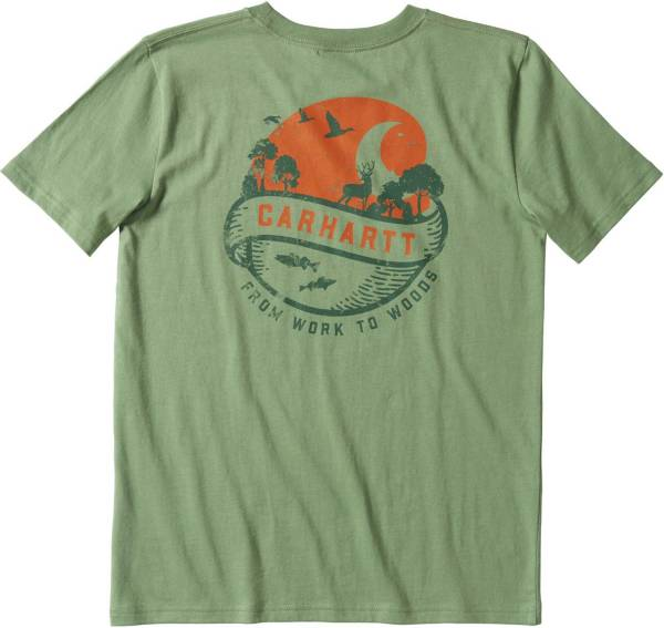 Carhartt Boys' Outdoor Short Sleeve Graphic T-Shirt product image