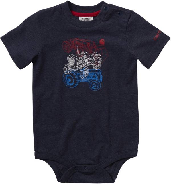 Carhartt Infant Boys' Tractor Stack Short Sleeve Onesie product image