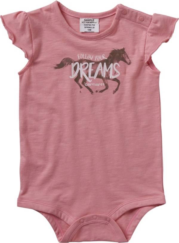 Carhartt Infant Girls' Dreams Short Sleeve Onesie product image