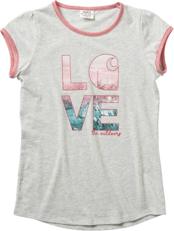 Carhartt Girls' Love C Ringer Short Sleeve T-Shirt product image