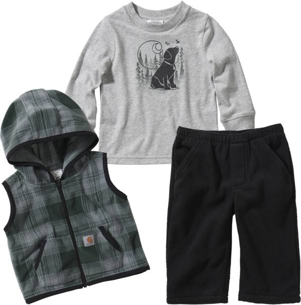 Carhartt Infant Boys' T-Shirt Pants and Vest Set product image