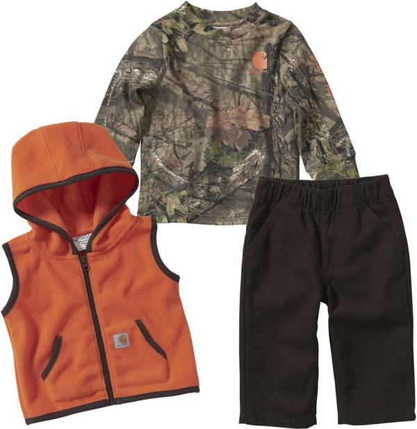 Carhartt Infant Boys' Camo T-Shirt Pant and Vest Gift Set product image