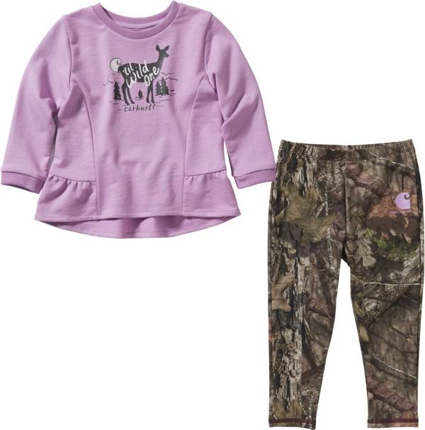 Carhartt Infant Girls' Tunic and Printed Leggings Set product image