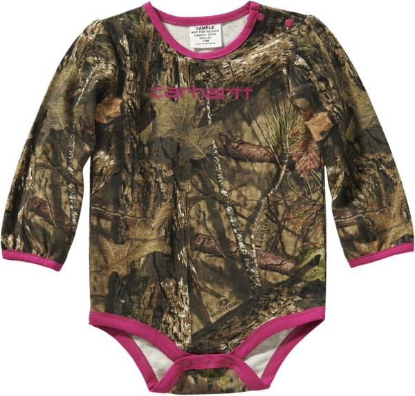 Carhartt Infant Girls' Long Sleeve Body Shirt product image