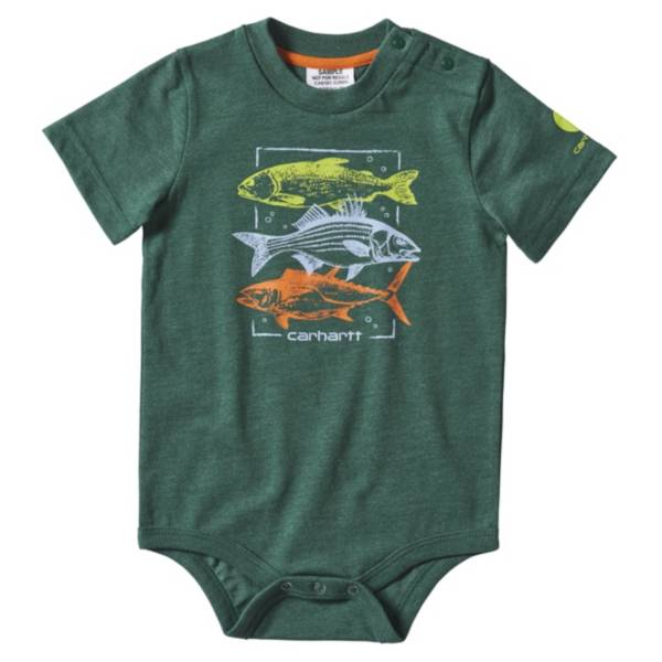 Carhartt Infant Heather Graphic Onesie product image