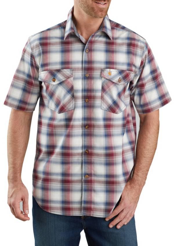 Carhartt Men's Bozeman Button-Front Plaid Short Sleeve Shirt product image