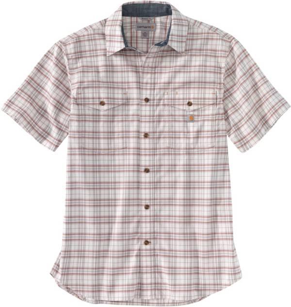 Carhartt Men's Short Sleeve Plaid Button Down Shirt product image