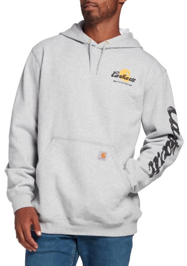 Carhartt Men's Original Fit Hooded Logo Graphic Sweatshirt product image