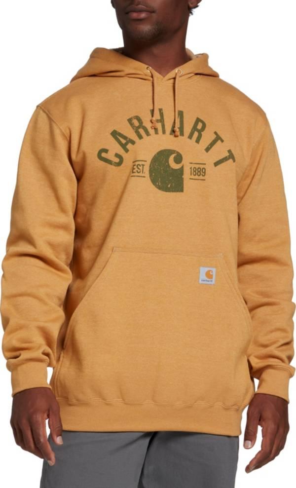 Carhartt Men's Midweight Logo Graphic Hooded Sweatshirt product image