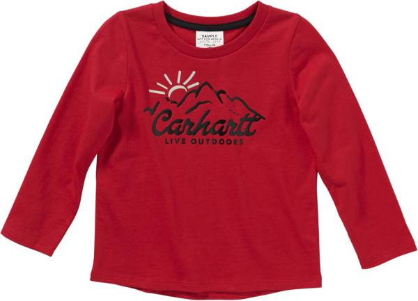 Carhartt Toddler Girls' Outdoor Live Outdoors Long Sleeve T-Shirt product image