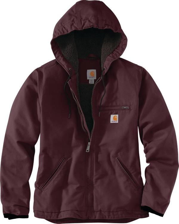 Carhartt Women's Washed Duck Sherpa Lined Jacket product image