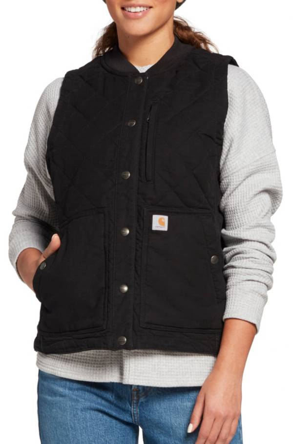 Carhartt Women's Quilted Canvas Vest product image