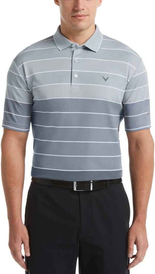 Callaway Men's Engineered Yarn-Dyed Oxford Stripe Golf Polo product image
