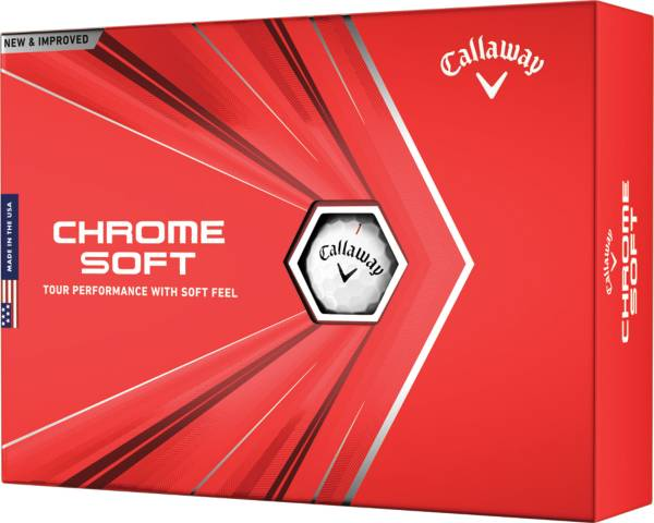 Callaway 2020 Chrome Soft Personalized Golf Balls product image