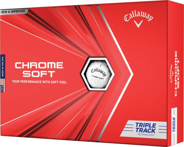 Callaway 2020 Chrome Soft Triple Track Personalized Golf Balls product image