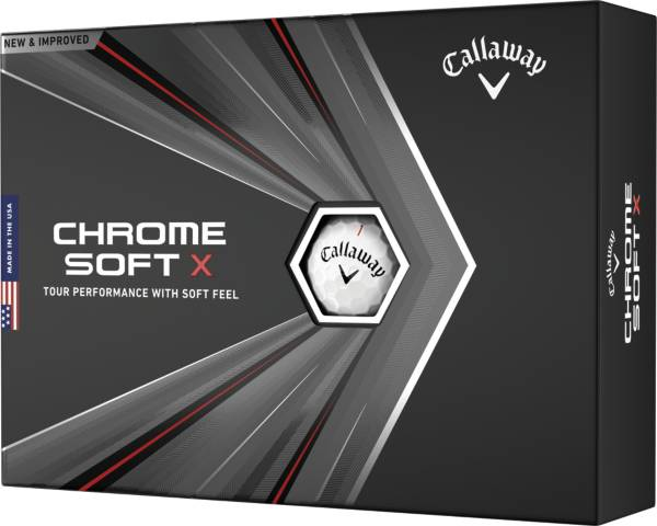 Callaway 2020 Chrome Soft X Personalized Golf Balls product image
