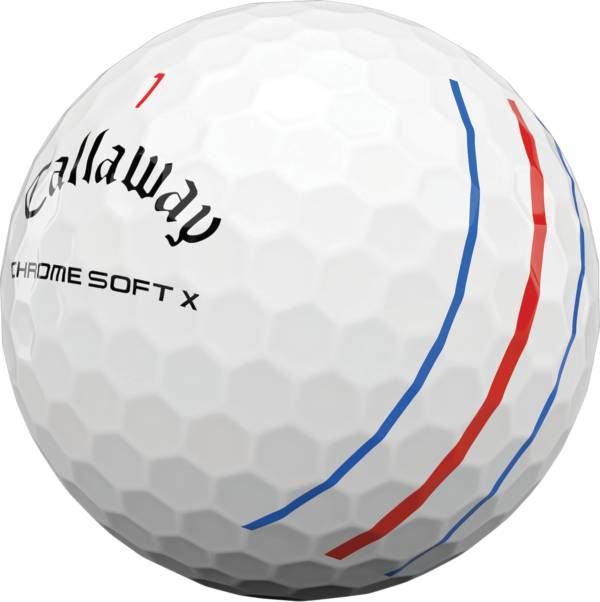 Callaway 2020 Chrome Soft X Triple Track Personalized Golf Balls product image
