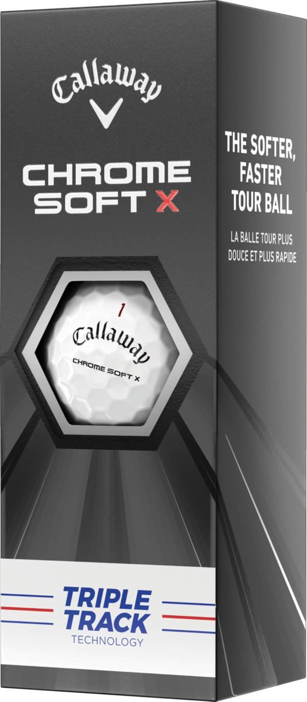 Callaway 2020 Chrome Soft X Triple Track Golf Balls – 3 Pack product image