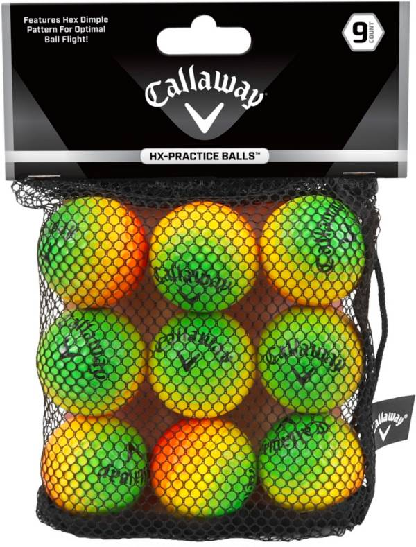 Callaway HX Multi Color Practice Balls – 9 Pack product image