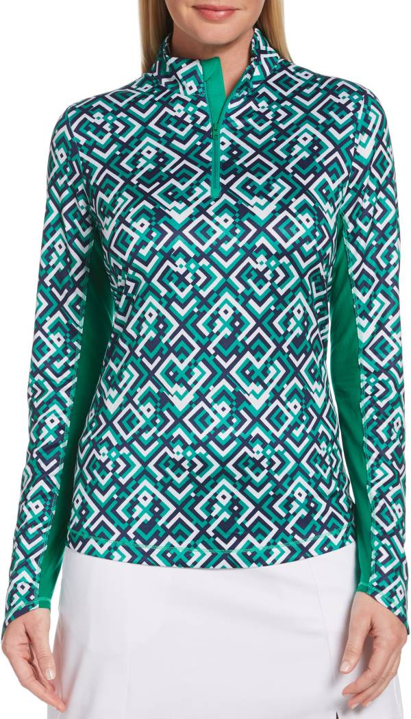 Callaway Women's UV Printed Long Sleeve ¼ Zip Golf Pullover product image