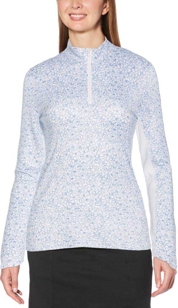Callaway Women's Swing Tech Floral Print Sun Protection Long Sleeve Golf Shirt product image