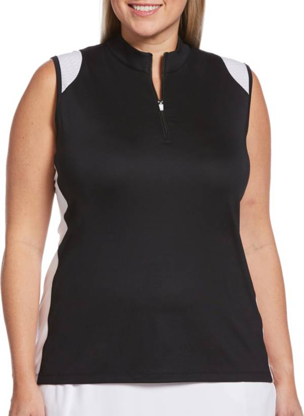 Callaway Women's Two-Color Sleeveless Golf Polo product image