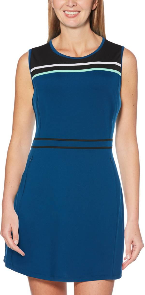 Callaway Women's TrueSculpt Color Block Sleeveless Golf Dress product image