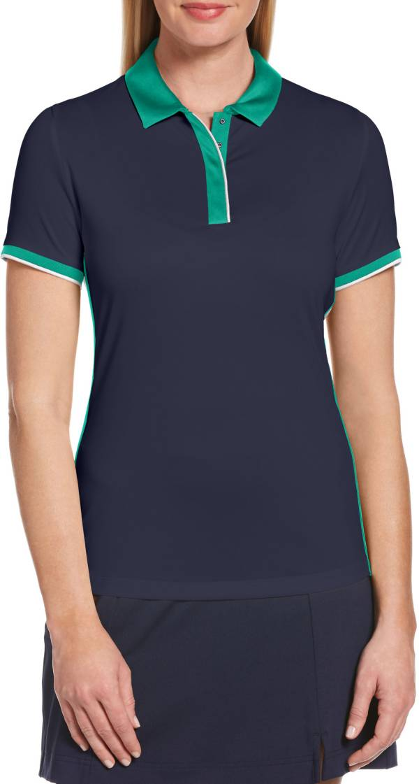 Callaway Women's Swing Tech Color Block Short Sleeve Golf Polo Shirt product image