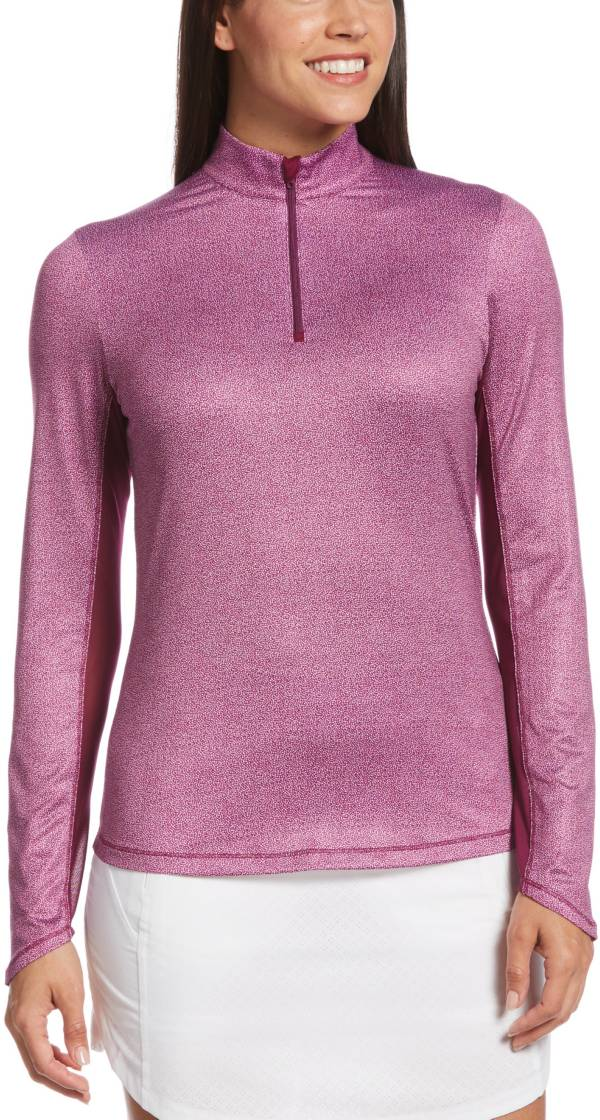 Callaway Women's Swing Tech Mini Leaf ¼ Zip Golf Pullover product image