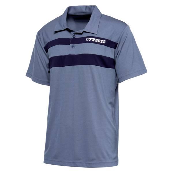 Dallas Cowboys Merchandising Men's Ponnier Navy Polo product image