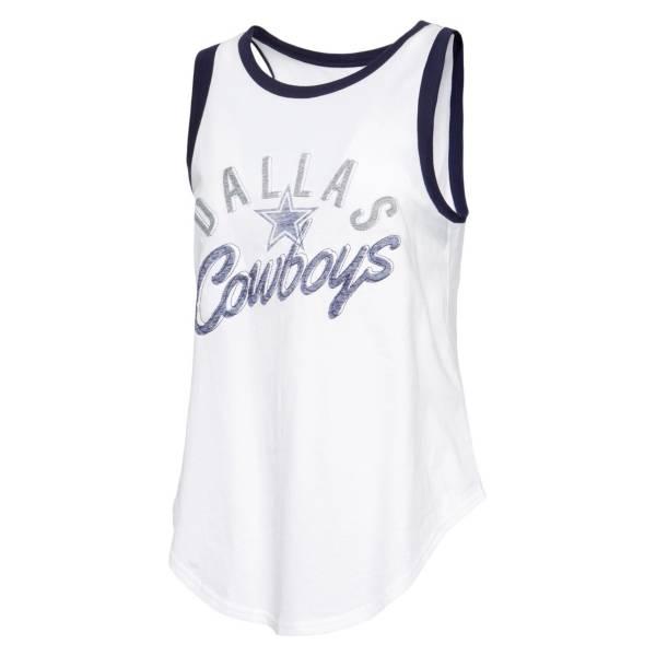 Dallas Cowboys Merchandising Women's Parade White Tank Top product image