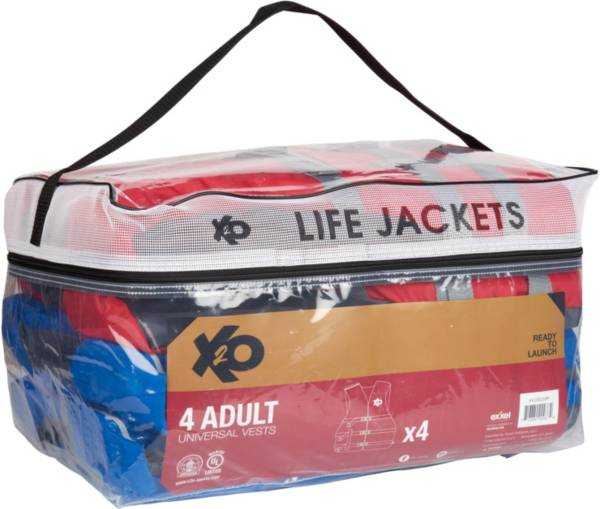 DBX Adult 4-Pack Universal Life Vests product image