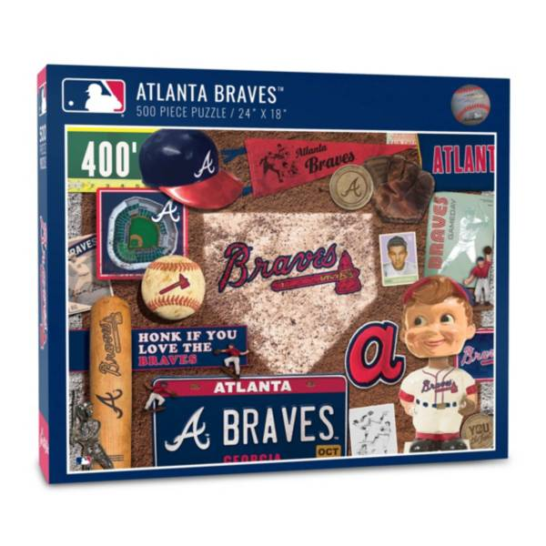 You The Fan Atlanta Braves Retro Series 500-Piece Puzzle product image