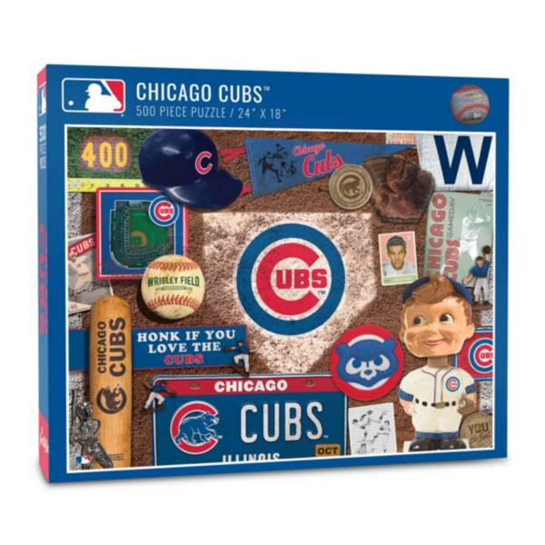 You The Fan Chicago Cubs Retro Series 500-Piece Puzzle product image