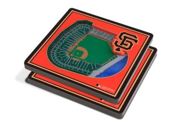 You the Fan San Francisco Giants Stadium View Coaster Set product image