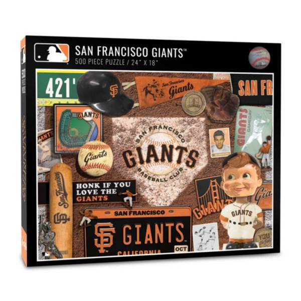 You The Fan San Francisco Giants Retro Series 500-Piece Puzzle product image