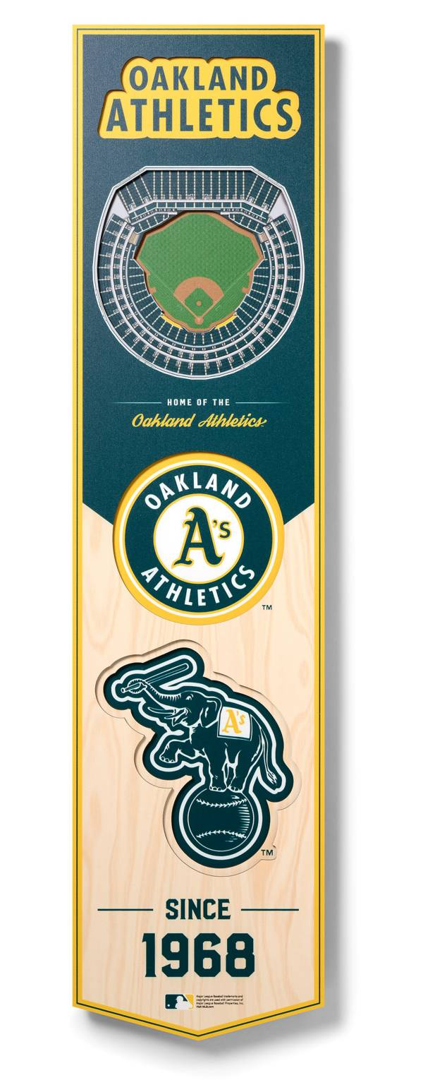 You The Fan Oakland Athletics 8''x32'' 3-D Banner product image